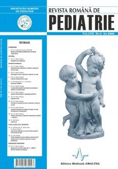 Revista Romana de PEDIATRIE | Volumul LVII, Nr. 2, An 2008